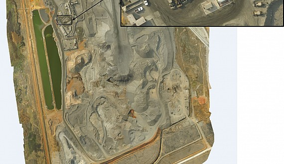 Aerial photos, Orthomosaics